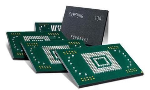 Микросхема памяти NAND, eMMC