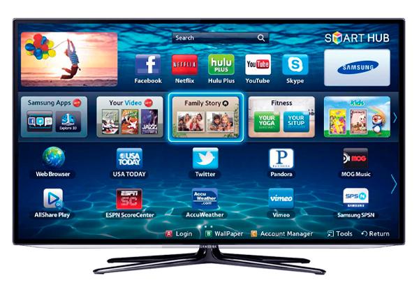 """Телевизор с функцией """"SmartTV"""""""